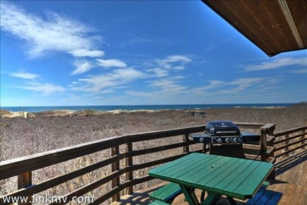 Aquinnah Martha's Vineyard vacation rental - Deck View