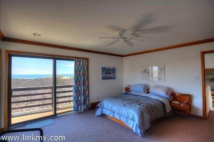 Aquinnah Martha's Vineyard vacation rental - Master bedroom