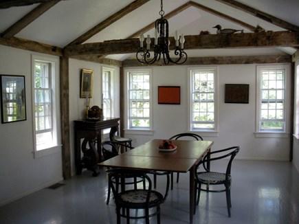 West Tisbury Martha's Vineyard vacation rental - Sunny bright dining dining room