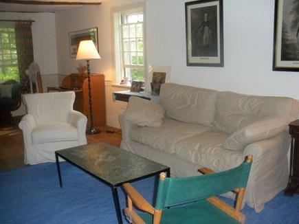 West Tisbury Martha's Vineyard vacation rental - Roomy living room