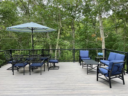 West Tisbury Martha's Vineyard vacation rental - New Composite Deck-24'x22'
