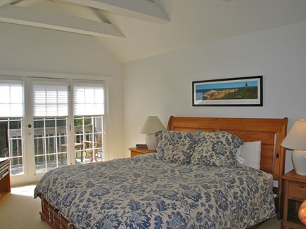 Vineyard Haven Martha's Vineyard vacation rental - Master on second floor w/ en suite, and private balcony