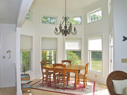 Vineyard Haven Martha's Vineyard vacation rental - Lovely formal dining area with vaulted ceiling