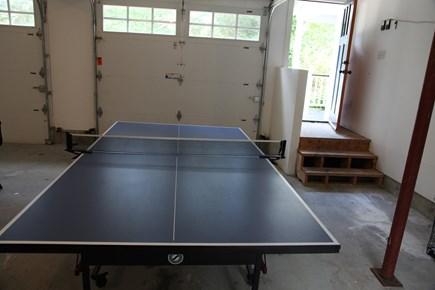Edgartown Martha's Vineyard vacation rental - Ping pong table in garage