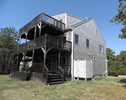 Katama - Edgartown Martha's Vineyard vacation rental - Three levels of decks