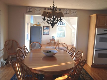Katama - Edgartown Martha's Vineyard vacation rental - Dining room facing family room