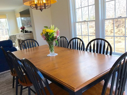 West Tisbury Martha's Vineyard vacation rental - Breaking bread with family & friends is the way to make memories