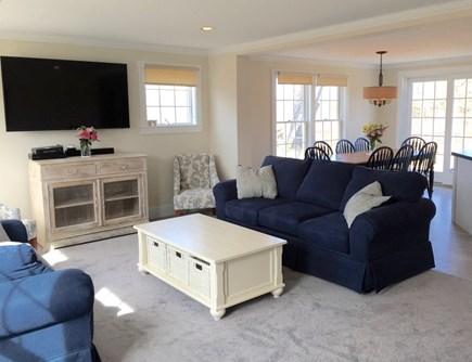 West Tisbury Martha's Vineyard vacation rental - Bright and sunny living room