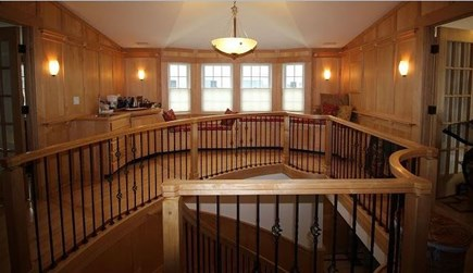 Edgartown Martha's Vineyard vacation rental - Upstairs landing with window seats