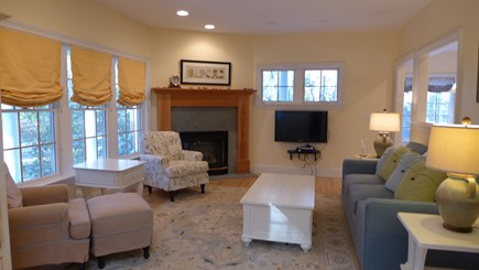 Vineyard Haven Martha's Vineyard vacation rental - Cozy Living Room