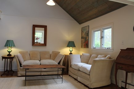 Vineyard Haven Martha's Vineyard vacation rental - Living Room with Cathedral Ceiling