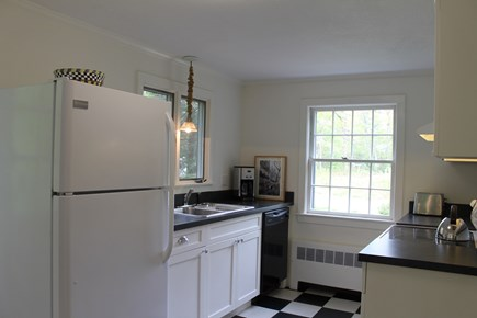 Vineyard Haven Martha's Vineyard vacation rental - Kitchen with new electric stove, new dishwasher, new microwave.