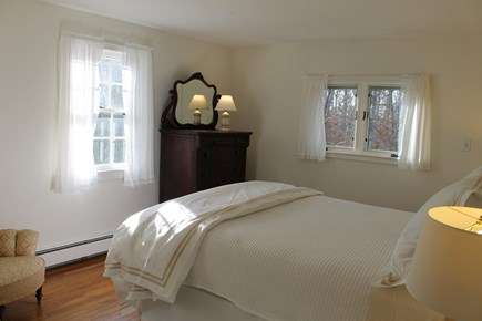 Vineyard Haven Martha's Vineyard vacation rental - Master Bedroom View B (with different duvet cover)