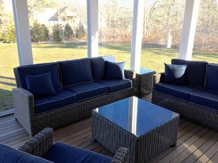 West Tisbury Martha's Vineyard vacation rental - Screened porch