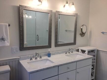 West Tisbury Martha's Vineyard vacation rental - Master bath  with shower