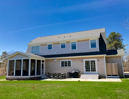 West Tisbury Martha's Vineyard vacation rental - Enjoy the patio & the screened porch. Great living in or outside.