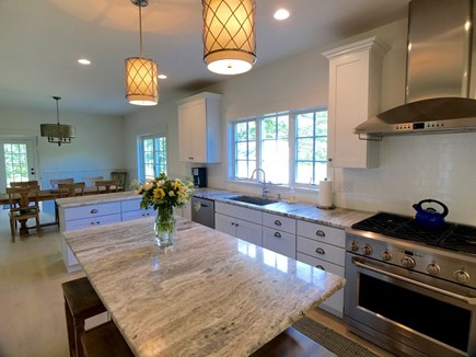 West Tisbury Martha's Vineyard vacation rental - Kitchen the center of the home