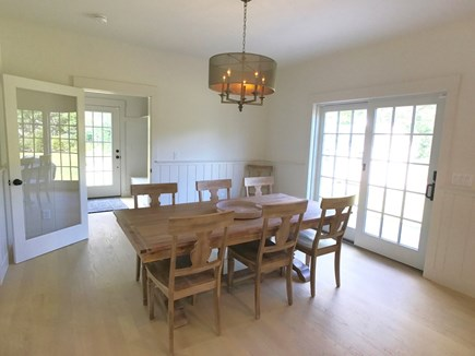 West Tisbury Martha's Vineyard vacation rental - Dining for eight