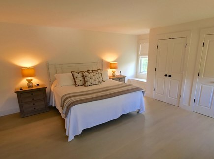 West Tisbury Martha's Vineyard vacation rental - Master with King bed