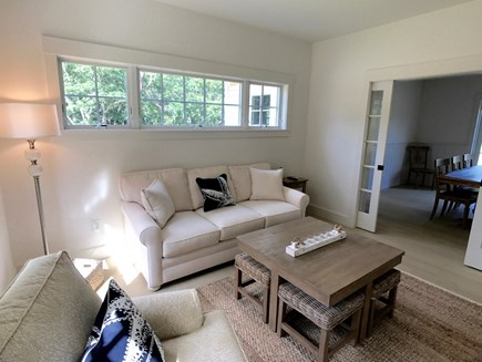 West Tisbury Martha's Vineyard vacation rental - Family room, closes off for some quiet time, TV watching, etc