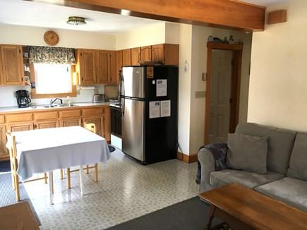 Vineyard Haven, Off of Franklin Street Martha's Vineyard vacation rental - Living Room Kitchen Dining Area