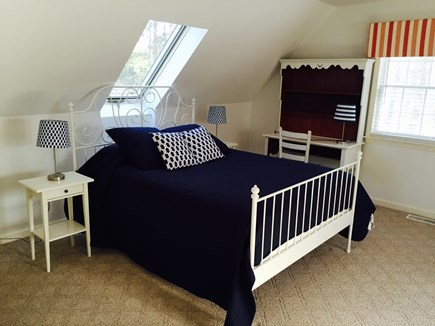 Vineyard Haven, Tisbury Martha's Vineyard vacation rental - Another view of the second floor bedroom with queen and 2 twins