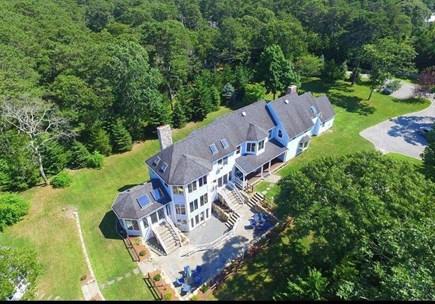Oak Bluffs Martha's Vineyard vacation rental - Aerial View of property