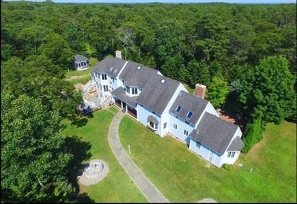 Oak Bluffs Martha's Vineyard vacation rental - Bird view