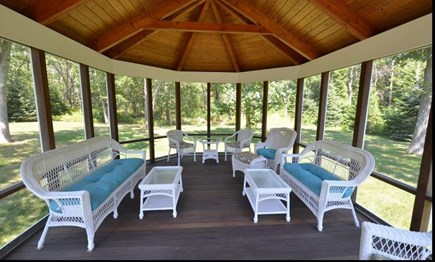 Oak Bluffs Martha's Vineyard vacation rental - Screened Gazebo