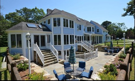 Oak Bluffs Martha's Vineyard vacation rental - Exterior w/multiple separate sitting areas to enjoy the privacy