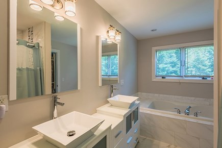 Oak Bluffs Martha's Vineyard vacation rental - Master bathroom first level