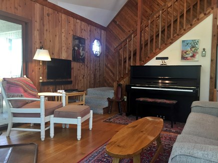 West Tisbury Martha's Vineyard vacation rental - Yamaha piano, for piano players.