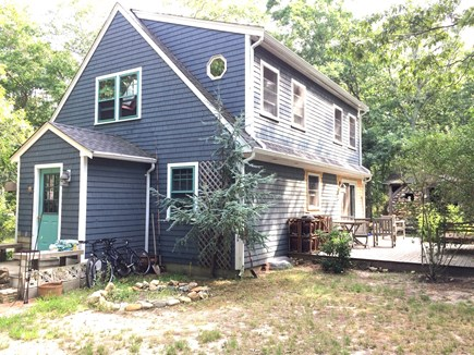 Vineyard Haven, Tisbury Martha's Vineyard vacation rental - Side and rear of the home