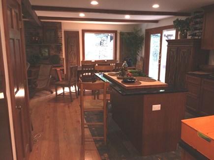 Vineyard Haven, Tisbury Martha's Vineyard vacation rental - Kitchen Living Room Dining area