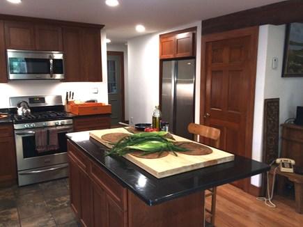 Vineyard Haven, Tisbury Martha's Vineyard vacation rental - Kitchen work area