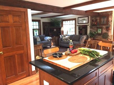 Vineyard Haven, Tisbury Martha's Vineyard vacation rental - Kitchen Center Island