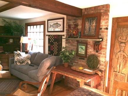 Vineyard Haven, Tisbury Martha's Vineyard vacation rental - Living Room Dining area