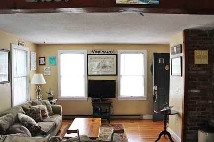 Edgartown Martha's Vineyard vacation rental - Cozy living room