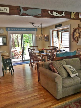 Edgartown Martha's Vineyard vacation rental - Open floor plan