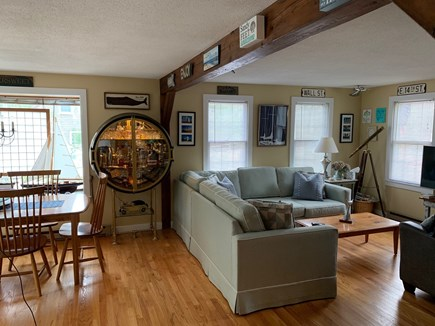 Edgartown Martha's Vineyard vacation rental - Living/Dining Area - Open floor plan