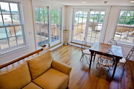 Vineyard Haven Martha's Vineyard vacation rental - Penthouse w/ sliders to decks and full wet bar and wine fridge.