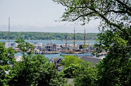 Vineyard Haven Martha's Vineyard vacation rental - Sweeping views of the harbor from 2 large decks.