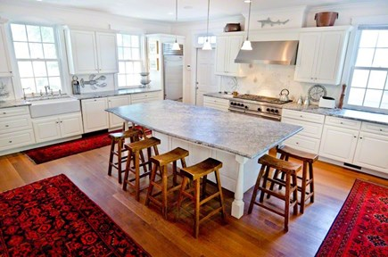 Vineyard Haven Martha's Vineyard vacation rental - Gourmet chefs kitchen with SubZero appliances and farmhouse sinks