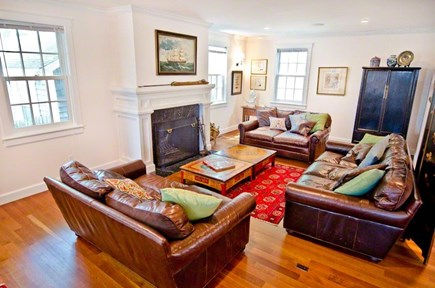 Vineyard Haven Martha's Vineyard vacation rental - Spacious living room off the kitchen for open plan entertaining.