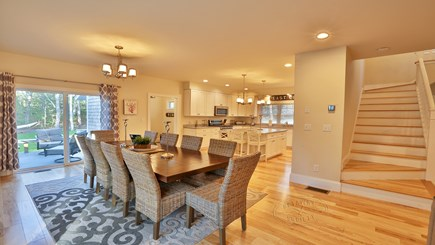 Oak Bluffs Martha's Vineyard vacation rental - Dining room and kitchen