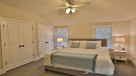 Oak Bluffs Martha's Vineyard vacation rental - 2nd floor king master bedroom with en suite bathroom