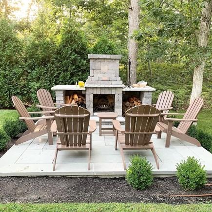 Oak Bluffs Martha's Vineyard vacation rental - Brand new, custom-built fire pit