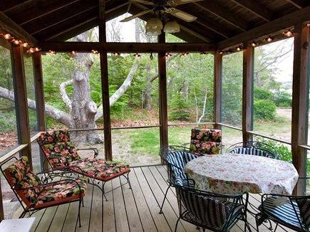 Oak Bluffs Martha's Vineyard vacation rental - Relax & enjoy the  breezes, view of the Lagoon
