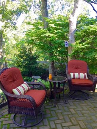 Edgartown Martha's Vineyard vacation rental - Patio with gardens