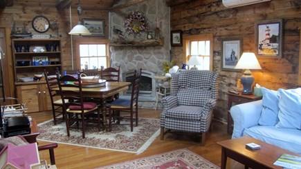 Edgartown Martha's Vineyard vacation rental - Open living, dining and kitchen